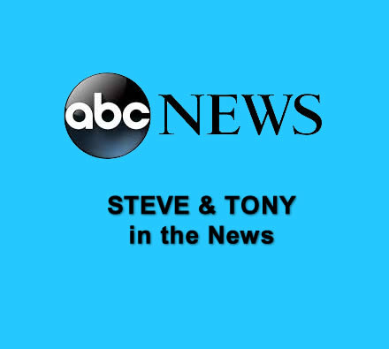 ABC News Coverage of Steve and Tony