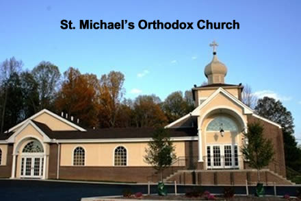 Video of Steve and Tony at St. Michael Orthodox Church in Wilmington, Alabama